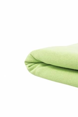Dzianina dresowa drapana w rękawie - zielona - 100cm/200cm 260g/m2 thumbnail