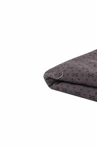 Dzianina siatkowana 100% bawełna - truflowy - 175cm 180g/m2 thumbnail