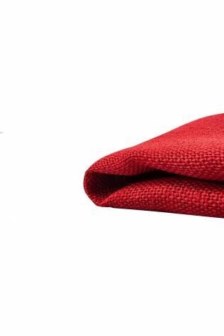 Tkanina jutowa - czerwony - 130cm 280g/m2 thumbnail