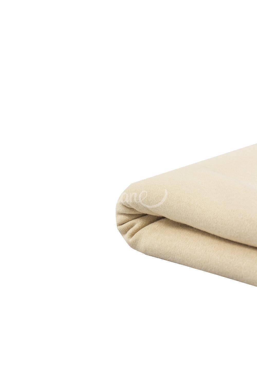 Dzianina Jersey interlock 100% bawełna pudrowy - 140cm 240g/m2