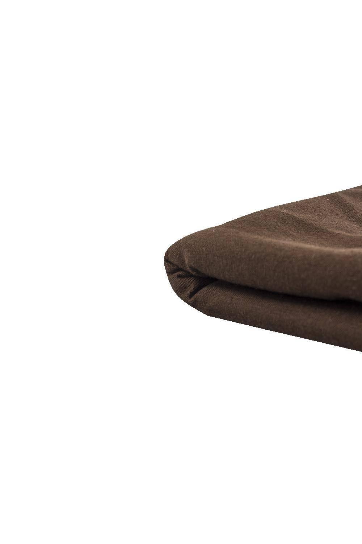 Dzianina jersey 100% bawełna - mleczna czekolada - 180cm 190g/m2