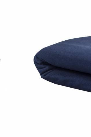 Dzianina dresowa drapana sportowa - granatowa - 155cm 170g/m2 - 1