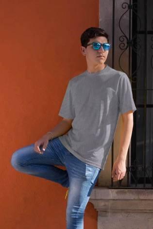 Knit - Viscose Jersey - Grey - 165 cm - 180 g/m2 thumbnail