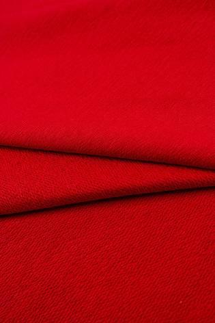 Dzianina dresówka pętelka - czerwony - 185cm 240g/m2 thumbnail