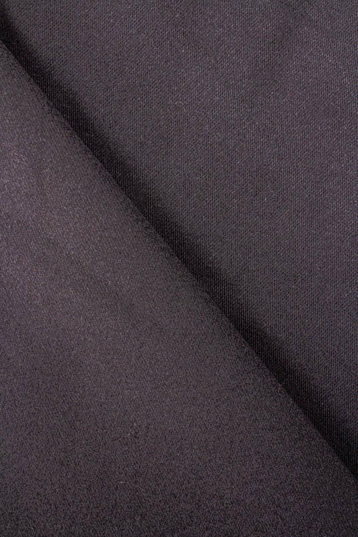Tkanina flanelowa - grafitowa - 160cm 425g/m2