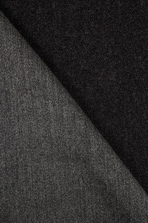 Fabric - Gabardine - Dark Grey - 155 cm - 350 g/m2