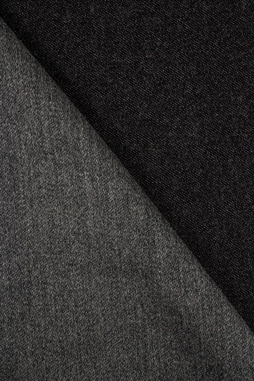 Tkanina gabardyna - ciemnyszary - 155cm 350g/m2