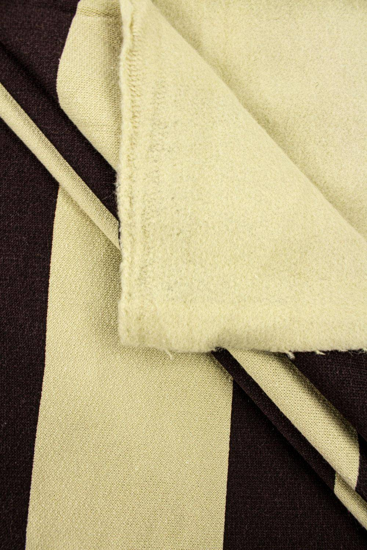 copy of Knit - Sweatshirt Fleece - Brown/Carmel - 170 cm - 320 g/m2