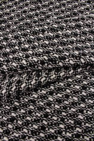 Tkanina wełniana w kratę - 155cm 440g/m2 thumbnail