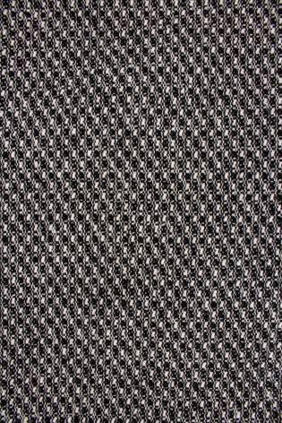 Fabric - Wool - Black & White Checkered Pattern - 155 cm - 440 g/m2 thumbnail
