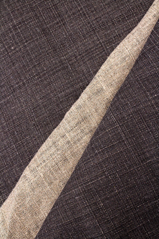 Fabric - Linen - Graphite - 140 cm - 300 g/m2