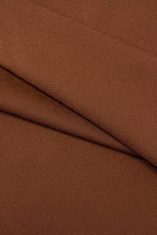Fabric - Viscose - Brown - 150 cm - 200 g/m2 thumbnail