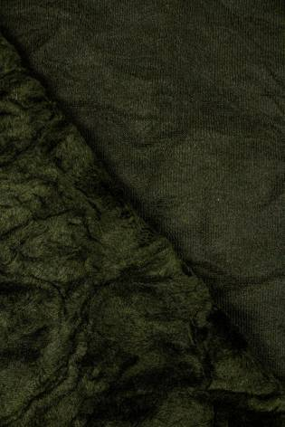 Tkanina eko-skóra a'la karakuł - 155cm 570g/m2 - 1