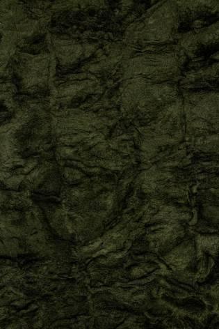 Tkanina zielona eko-futro a'la karakuł - 155cm 570g/m2 thumbnail