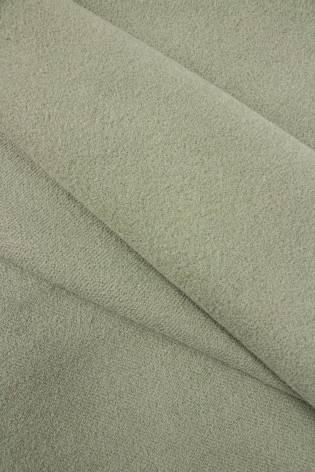 Tkanina flausz wełniany - oliwkowy - 160cm 290g/m2 thumbnail