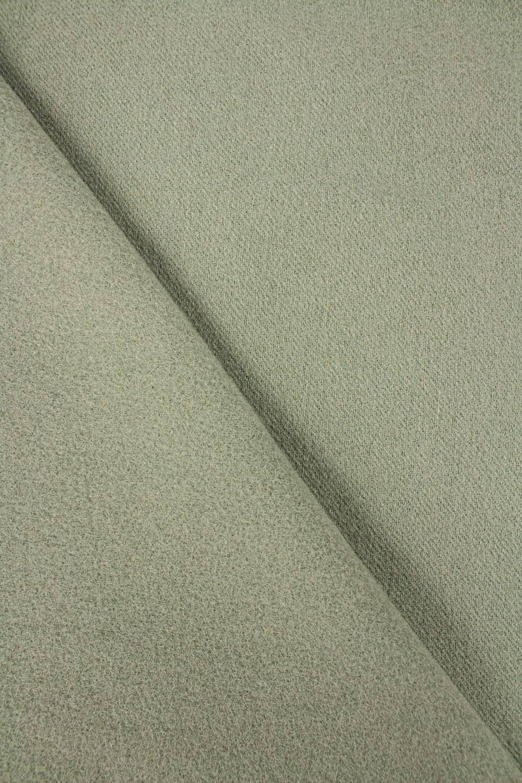 Tkanina flausz wełniany - oliwkowy - 160cm 290g/m2