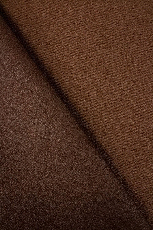 Tkanina zamszowa - mleczna czekolada - 160cm 250g/m2