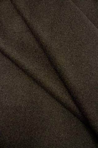 Tkanina flausz wełniany - khaki - 155cm 440g/m2 thumbnail