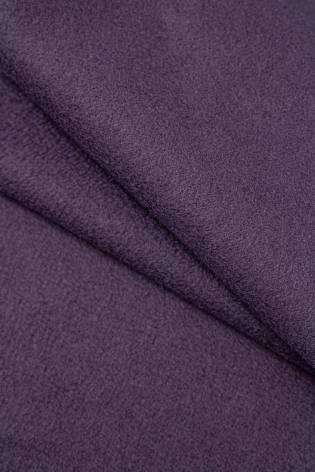 Tkanina flausz wełniany - fioletowy - 155cm 330g/m2 thumbnail