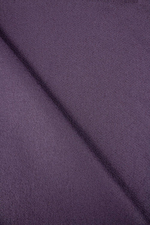 Tkanina flausz wełniany - fioletowy - 155cm 330g/m2