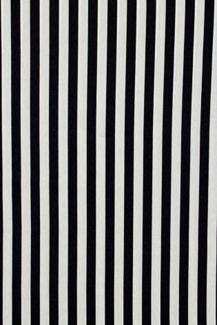 Fabric - Shirt Type - Navy Blue & Ecru Stripes - 150 cm - 130 g/m2 thumbnail