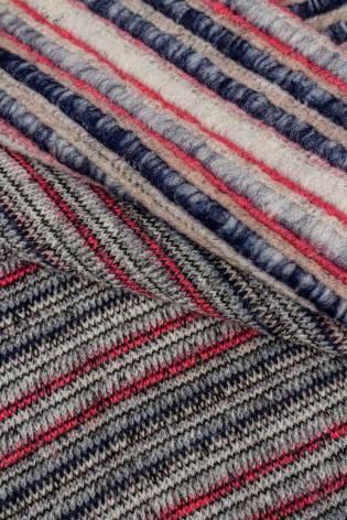 Dzianina sweterkowa gruba w paski - 130cm 500g/m2 thumbnail