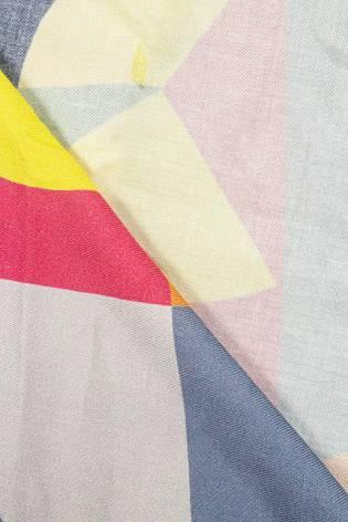 Tkanina wiskozowa - geometryczne abstakcje -  140cm 140g/m2 thumbnail