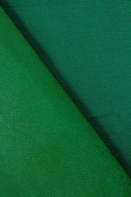 Tkanina zamszowa - malachitowa - 160cm 250g/m2