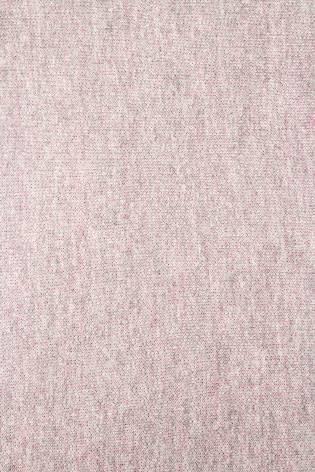 Dzianina dresowa pętelka szary melanż z różowym spodem 180cm 255g/m2 thumbnail