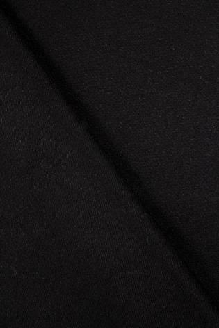 Tkanina flausz wełniany - czarny - 160cm 270g/m2 - 1