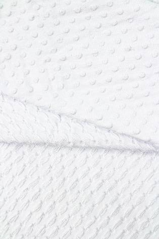 Knit - Viscose Jersey - Embossed - White - 155 cm - 245 g/m2 thumbnail
