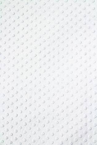 Dzianina jersey wiskozowy - biały tłoczony  - 155cm 245g/m2 thumbnail