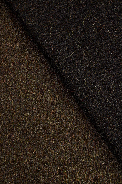 Tkanina flausz moherowa - brązowy - 155cm 360g/m2