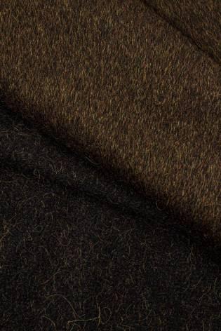 Tkanina flausz moherowa - brązowy - 155cm 360g/m2 thumbnail