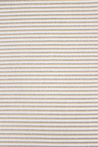 Fabric - Linen - Grey & Beige Stripes - 150 cm - 190 g/m2 thumbnail
