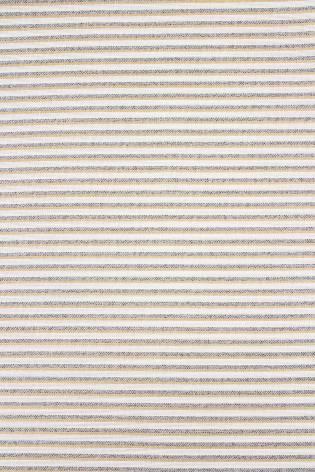 Tkanina lniana w paski - szaro beżowe - 150cm 190g/m2 thumbnail