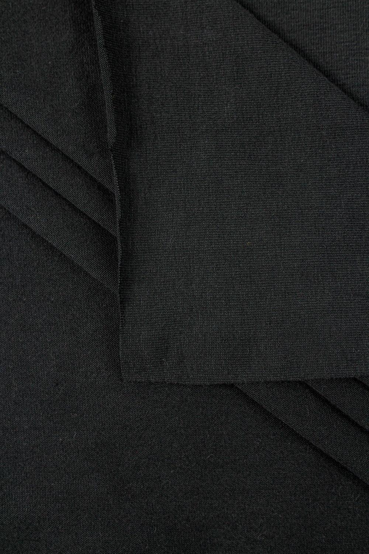 Knit - Jersey - Washed Black - 180 cm - 190 g/m2