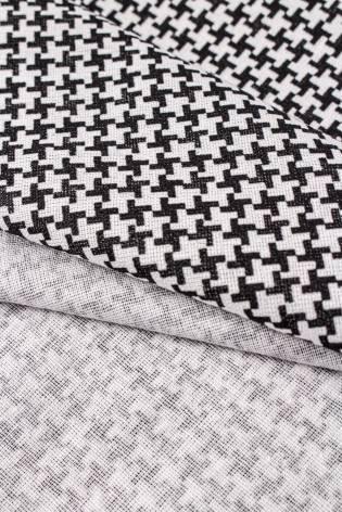 Fabric - Cotton - Dog Tooth - 165 cm - 120 g/m2 thumbnail