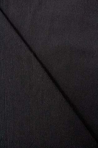 Tkanina bawełniana czarna NORRIS - 170cm 180g/m2 - 2