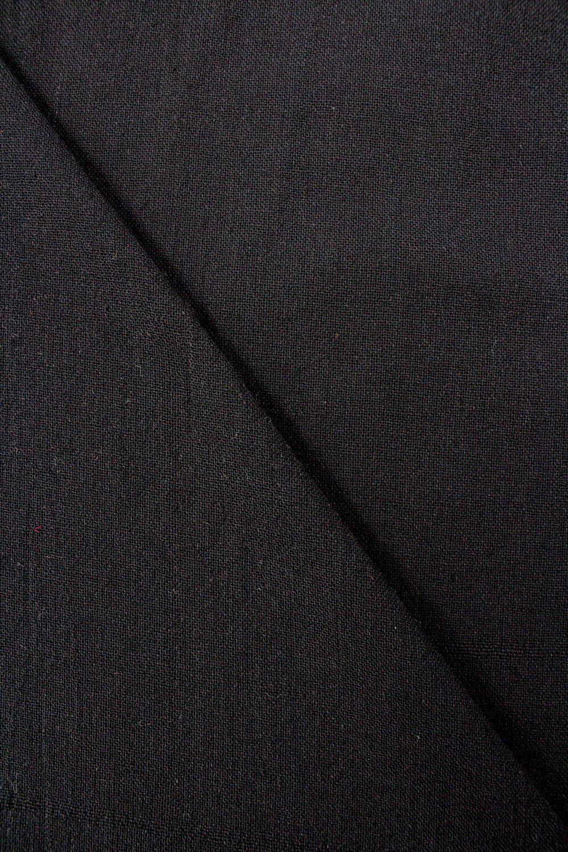 Tkanina bawełniana czarna - 170cm 180g/m2