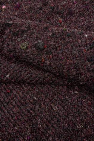 Knit - Sweater Type - Thick - Burgundy - 135 cm - 390 g/m2 thumbnail