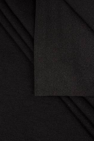 Dresówka pętelka czarna sportowa - 180cm 210g/m2 - 1