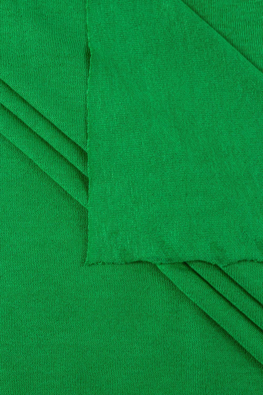 Dzianina jersey wiskozowy - zielony - 175cm 140g/m2