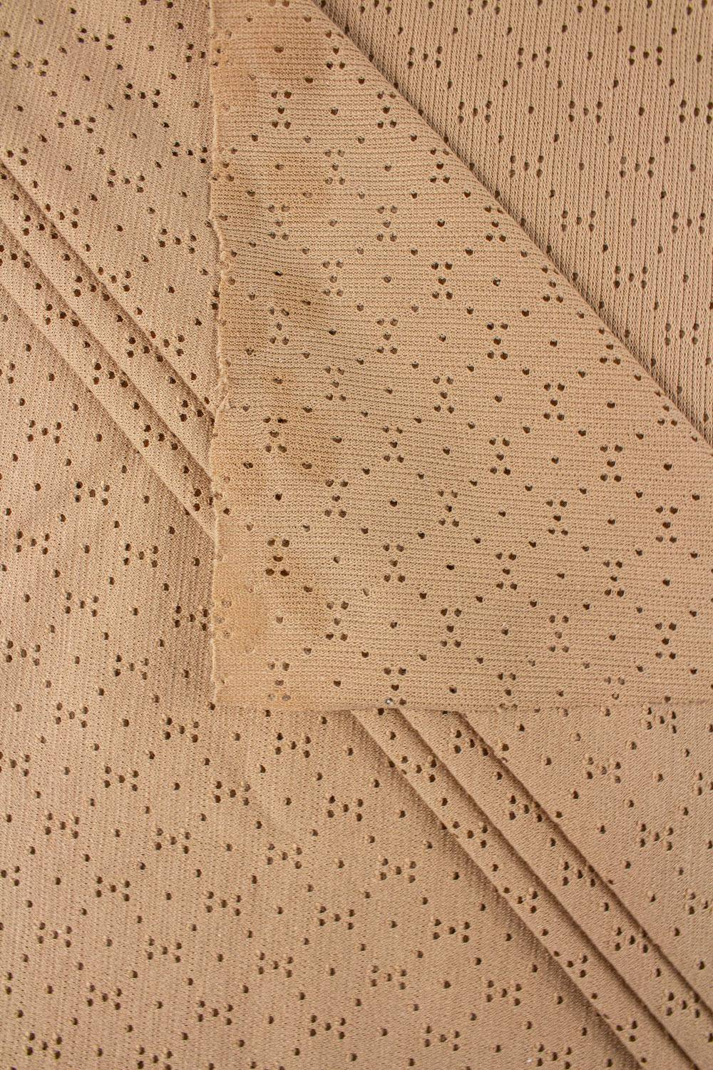 Knit - Jersey - Perforated - Nude - 175 cm - 160 g/m2