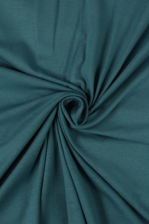 Dzianina jersey wiskozowy turkusowy KUPON 2 MB
