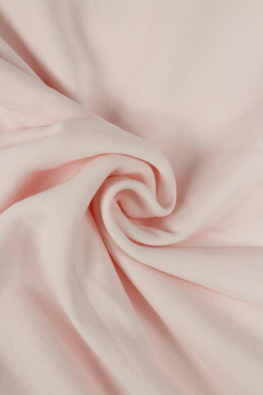 Dresówka pętelka gruba różowa KUPON 2 MB