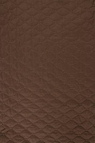 Knit - Quilted - Brown - 145 cm - 200 g/m2 thumbnail