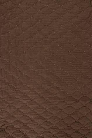 Tkanina pikowana brązowa - 145cm 200g/m2 thumbnail