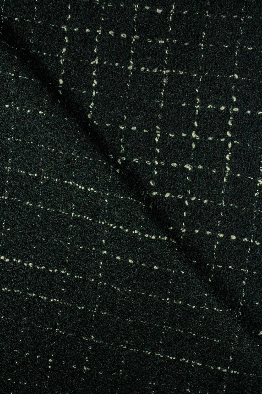 Tkanina wełniana - zielony - 140cm 360g/m2