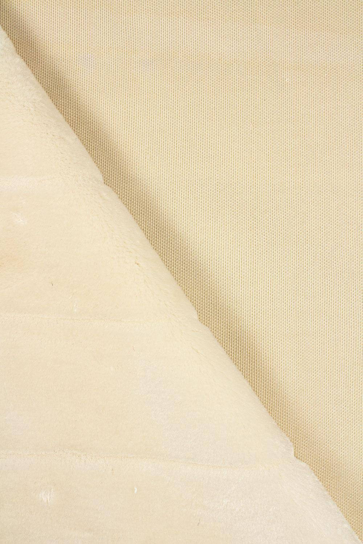 Fabric - Eco Fur - Cream/Beige - 165 cm - 470 g/m2